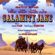 CD CALAMITY JANE - Studio Cast 1994