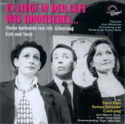 CD ES LIEGT IN DER LUFT WAS IDIOTISCHES - Original Berlin Cast 1999