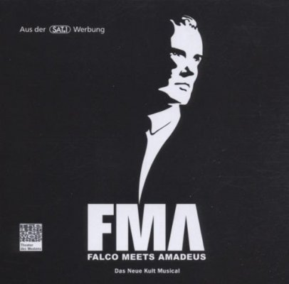CD FALCO MEETS AMADEUS - Original Berlin Cast 2000