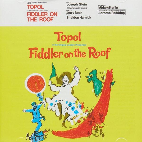 Cd Fiddler On The Roof Original London Cast 1967 Eur 18