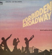CD FORBIDDEN BROADWAY - Original New York Cast 1982