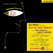 CD OUT OF THIS WORLD! - Original Broadway Cast 1950