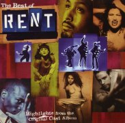 CD RENT - Original Broadway Cast 1996 \(Highlights\)