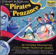 CD PIRATES OF PENZANCE, THE - Studio Cast 1993