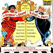 CD YEOMEN OF THE GUARD & THE TRIAL - Studio Cast 1995