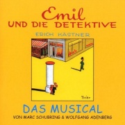 CD EMIL UND DIE DETEKTIVE - Original Berlin Cast 2001 - (Marc Schubring, Wolfgang Adenberg)  Ulrike Frank, Holger Hauer, Bettina Meske, Andreas Goebel, Dagmar Biener u. a. - 26-Tracks. German musical based on the famous childrens book by Erich K�stner.