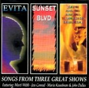 CD Songs From Three Great Shows