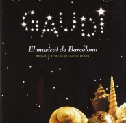 CD GAUDI - Original Barcelona, Spain Cast 2002