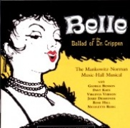 CD BELLE or THE BALLAD OF DR. CRIPPEN - Original London Cast 1961