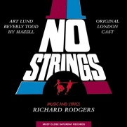 CD NO STRINGS - Original London Cast 1964