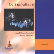 CD TIJD-AFFAIRE, DE - Original Niederlande Cast 1998
