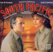 CD SOUTH PACIFIC - Studio Cast 1986