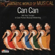 CD CAN CAN - Original Wien Cast 1968