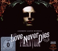 CD LOVE NEVER DIES - Original London Cast 2010 \(2 CD + DVD\)