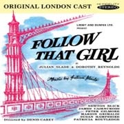 CD FOLLOW THAT GIRL - Original London Cast 1960