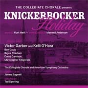 CD KNICKERBOCKER HOLIDAY - New York Concert Cast 2011