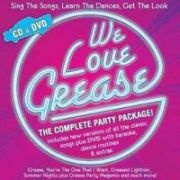CD GREASE, WE LOVE GREASE - Studio Cast \(+ DVD \(RC 2\) mit Karaokesongs und Tanzanleitung\)
