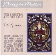 CD POETRY IN MOTION - Studio Cast 1990