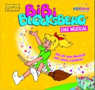 "CD BIBI BLOCKSBERG - DAS MUSICAL - Studio Cast 2013 - (Marcell G�dde, Uwe Vogel) Studio-Cast CD from the German children musical ""BIBI BLOCKSBERG""."