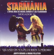 "CD STARMANIA - 1994 Frankreich Cast \(CD-Single\) ""Quand On N\'a Plus Rien � Perdre"""