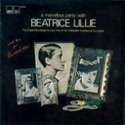 CD Lillie, Beatrice - A Marvelous Party With Beatrice Lillie