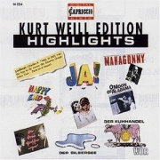 CD Kurt Weill Edition-Highlights