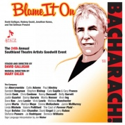 CD Blame It On Bacharach - STAGE Benefit Concert