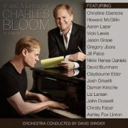 CD Bloom, Charles - Music & Lyrics By Charles Bloom