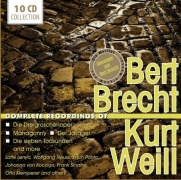 CD The Complete Recordings Of Bert Brecht & Kurt Weill \(10 CD Box-Set\)