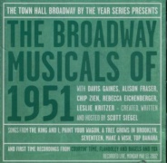 CD Broadway Musicals Of 1951