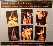 CD Gold And Silver - Celebrating 25 Years Of The Ohio Light Opera