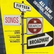 CD Fifteen Songs in search of Broadway by Harry Lewis
