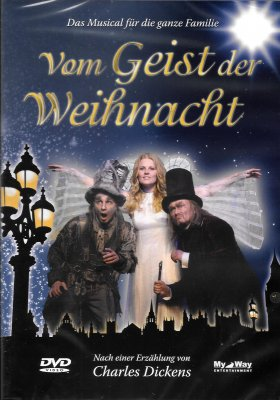 dvd vom geist der weihnacht original cast 2009 rc 0. Black Bedroom Furniture Sets. Home Design Ideas