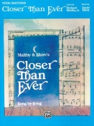 Sheet Music CLOSER THAN EVER \(SCORE\)