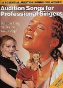 Sheet Music + Playback-CD AUDITION SONGS FOR PROFESSIONAL SINGERS - 31 ESSENTIAL SONGS FOR PROFES