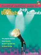 Noten + Playback-CD ESSENTIAL AUDITION SONGS FOR MALE VOCALISTS: POP BALLADS