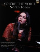 Sheet Music + Playback-CD JONES, NORAH - YOU\'RE THE VOICE
