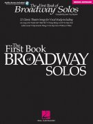 Sheet Music + Playback-CD First Book Of Broadway Solos, The - Mezzo-Soprano