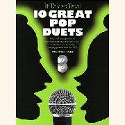 Noten + Playback-CD 10 GREAT POP DUETS