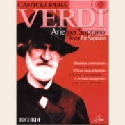 Sheet Music + Playback-CD VERDI ARIAS FOR SOPRANO