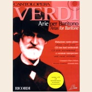 Sheet Music + Playback-CD VERDI ARIAS FOR BARITONE