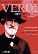 Sheet Music + Playback-CD VERDI ARIAS FOR TENOR