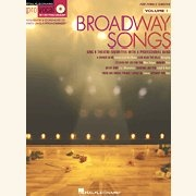 Sheet Music + Playback-CD BROADWAY SONGS \(For Female Singers\)