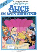 SHEET MUSIC ALICE IN WONDERLAND