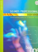 Sheet Music + Playback-CD SOUNDS PROFESSIONAL \(HIGH VOICE\)