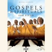 Sheet Music + Demo-CD GOSPELS & SPIRITUALS \(EASY PIANO\)