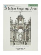 Sheet Music + Playback-CD 28 ITALIAN SONGS & ARIAS \(MEDIUM-LOW\)