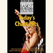 Sheet Music EASIEST KEYBORD COLLECTION - TODAY\'S CHART HITS