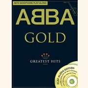 Sheet Music + Playback-CD ABBA - GOLD \(ALTO SAXOPHONE\)