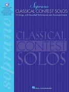 Sheet Music + Playback-CD CLASSICAL CONTEST SOLOS FOR SOPRANO